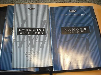 1995 Ford Ranger  Owners Manual & Case