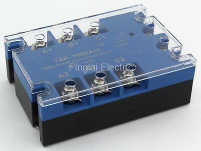 TSR-100DA-H three phase DC to AC 100A 480V solid state relay / SSR