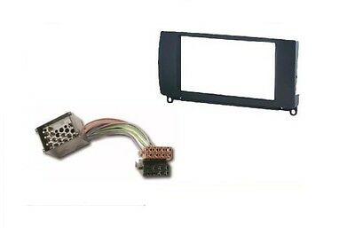 Radioblende 2 DIN ROVER 75 1999--  ROVER MG ZT 1999 --  + ISO Adapter Kabel