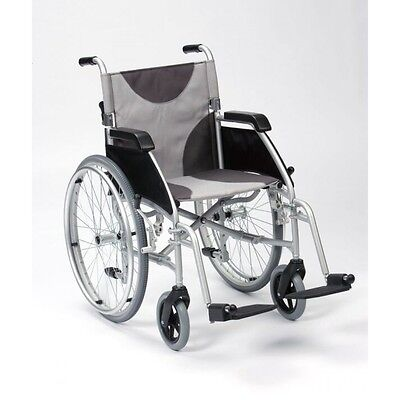 "Enigma Ultra Lightweight Aluminium Self Propelled Wheelchair - 17"" or 20"" Seat"