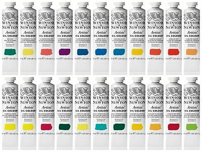 Winsor & Newton Artist Oil Colour 37ml Tubes Series 4 Colours