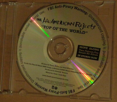 All-American Rejects - Top of the World Promo CD Single 2006 Interscope Records