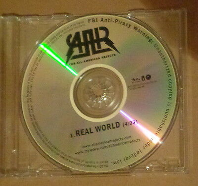 All-American Rejects - REAL WORLD -  Promo CD Single 2009 DGC/Interscope Records