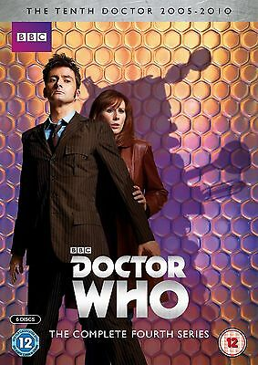 Doctor Who Complete Series - 4 BRAND NEW AND SEALED UK REGION 2 DVD
