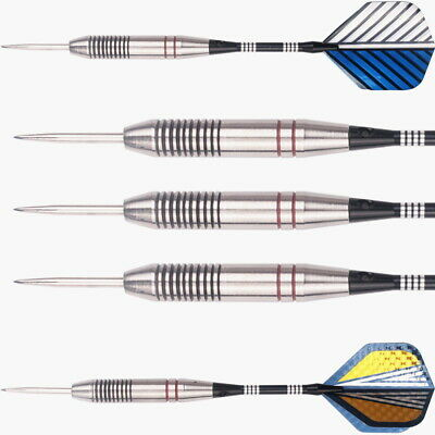 2 sets of Steel Tip Darts Tungsten Barrel Aluminium Shafts Professional Dart Set