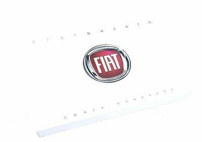 Fiat Ducato 2014   Owners Manual / Handbook 350 pages new & Genuine 60399479