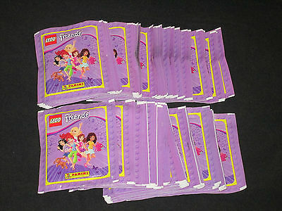 100 Pochettes Panini  Lego Friends   = 500 Images Stickers