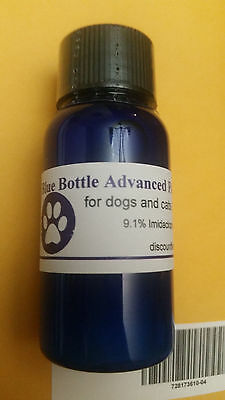 Blue Bottle ADVANCED FLEA CONTROL, 3-25 Monthly Treatments- Dogs, Cats 10ml