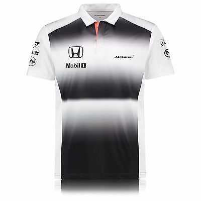 "Official McLaren Honda F1 Men's 2016 Team Polo Shirt, Size: S (36-38"")"