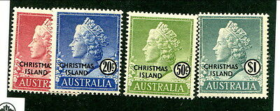 Mint Christmas Island #7 - 10 (Lot #11582)