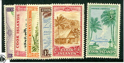 Mint Cook Islands #135 - 140 (Lot #11587)