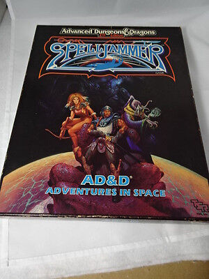 AD&D Spelljammer: Adventures in Space TSR 1989 COMPLETE and unpunched