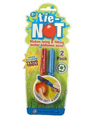 Tie-Not - Water Balloon Tying Tool - 2 Pack
