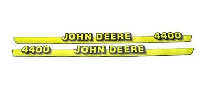 John Deere Hood Trim Decal Set - M116988 M116989 - 4400