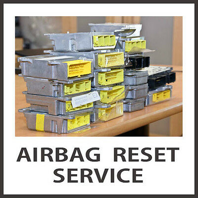Repair service: Reset Airbag module to factory state on Nissan Rogue all years