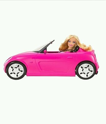 Barbie Glam Convertible Car 3+ Pink New!!!