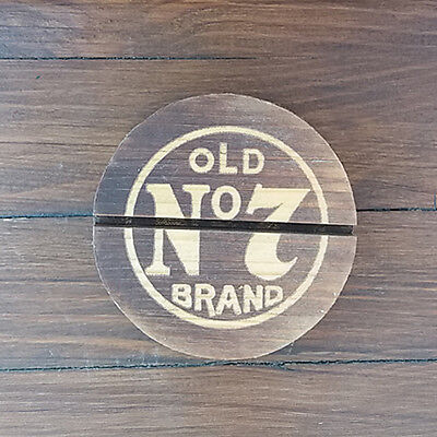 Jack Daniels Whiskey Wooden Broshure Stand Old No7 Brand