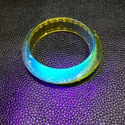 Collection Chinese antique bangle hand-carved old jade dragon bracelet AAAAAA
