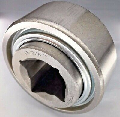 "Premium DC208TT AG Disc Harrow Bearing 1-1/8"" Square Bore 