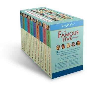 NEW The Famous Five Library Collection By Enid Blyton Free Shipping