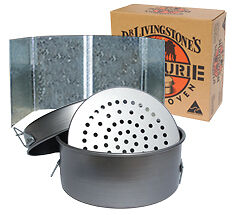 "NEW  Bedourie Oven 12"", Trivet & Windshield Bundle"