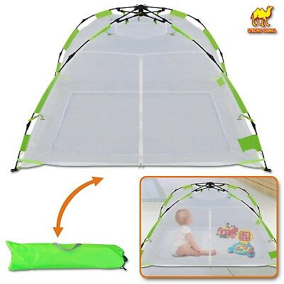 Kid Adult Mosquito Net Pop up Instant Tent Multi-use Mesh Tent Indoor Outdoor