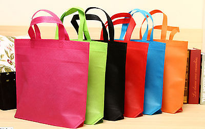 Hot wholesale Colorful Shopping Bag Storage Grocery Reusable Shopper Pouch Tote