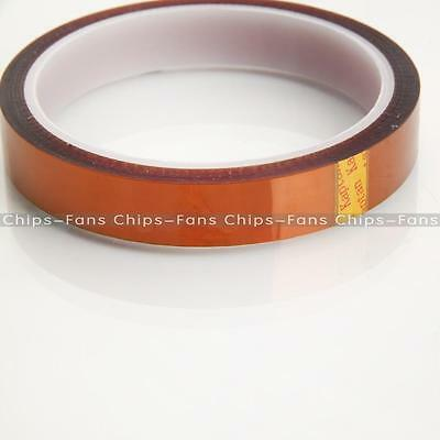 15mm 1.5cm X 33m 100ft Kapton Tape High Temperature Heat Resistant Polyimide NEW