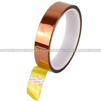 20mm 100ft Gold Heat Resistant High Temperature Kapton Tape Polyimide