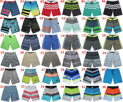 QUIKSILVER Stretch Mens Quick Dry Surf Pants Swimtrunks Board Shorts Beachshorts