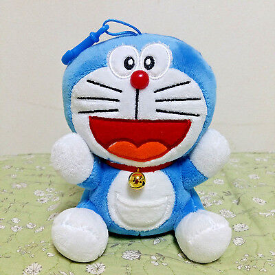 Authentic Japan Anime Doraemon Plush doll Bag Keychain