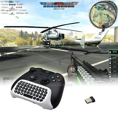 2.4G Mini Wireless Chatpad Message Keyboard for XBOX ONE Slim Controller