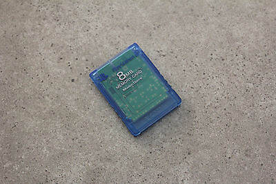 Sony Playstation 2 PS2 Genuine Memory Card (SCPH-10020) Island Blue