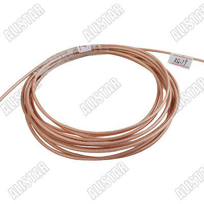 50 feet / RF Adapter Connector Coaxial cable M17/94-RG179 Coax Cable 75ohm