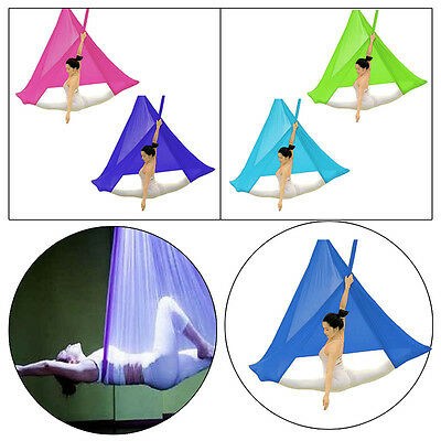 Antenne Swing Hamac Flying Yoga Domicile Exercice Fitness Anti-Gravité Cool
