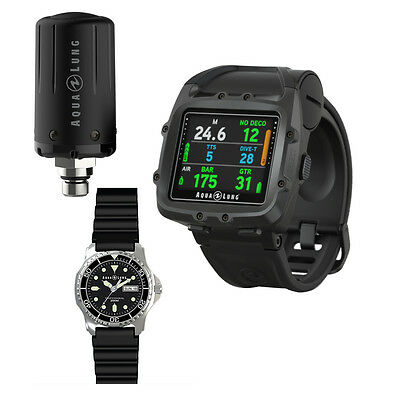 Aqualung i750TC Dive Computer & FREE Transmitter & Dive Watch