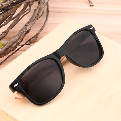 Bamboo Sunglasses Wooden Wood Mens Womens Retro Vintage Summer Glasses HX