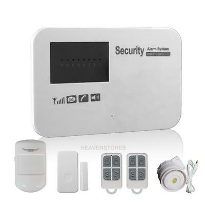 WiFi APP Wireless Remote Home Door Security GSM Alarm Burglar Anti-Theft System
