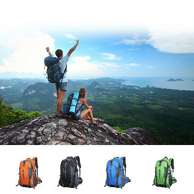 50L Sport Travel Camping Hiking Rucksack Shoulders Bag Climbing Backpack Outdoor