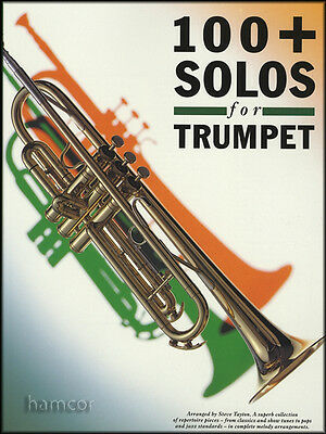 100+ Plus Solos for Trumpet Sheet Music Book