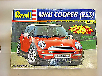 Revell MINI COOPER R53  1/24 Model Kit