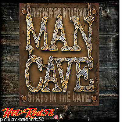 Metal Tin Wall Signs Man Cave Shed  Hot Rod Garage Classic Vintage Advertising