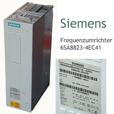 Siemens Frequency 6sa8823-4ec41 D380-460d380-460/34lm6re 3 Phasen 380v