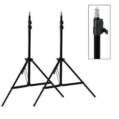 2x2.1m Adjustable Photography Studio Light Stand Tripod Softbox Lighting Stands