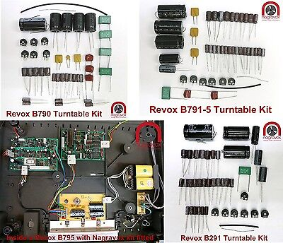 Revox B290 B291 B790 B791 B795 Turntable Overhaul Kit
