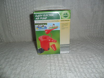 240V Electric Air Pump Inflatable For Camping Airbed Swimming Inflatable Sofa