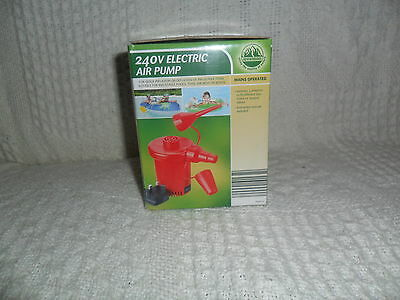 Electric Air Pump 240v Inflatable For Camping Airbed Swimming Inflatable Sofa
