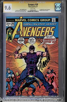 Avengers #109 Cgc 9.6 White Ss Stan Lee 1St Appearance Of Imus C. #1206552001
