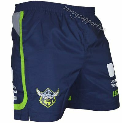 Canberra Raiders 2017 NRL Training Shorts Adults and Kids Sizes Available BNWT