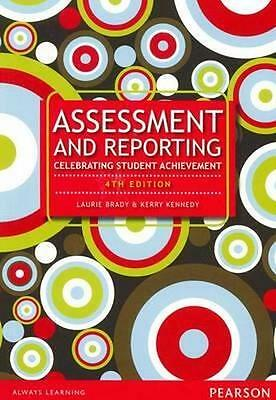 NEW Assessment and Reporting By Laurie Brady Paperback Free Shipping